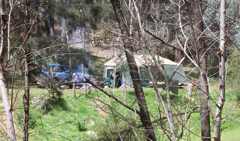 Abercrombie Caves campground - VIC Tourism