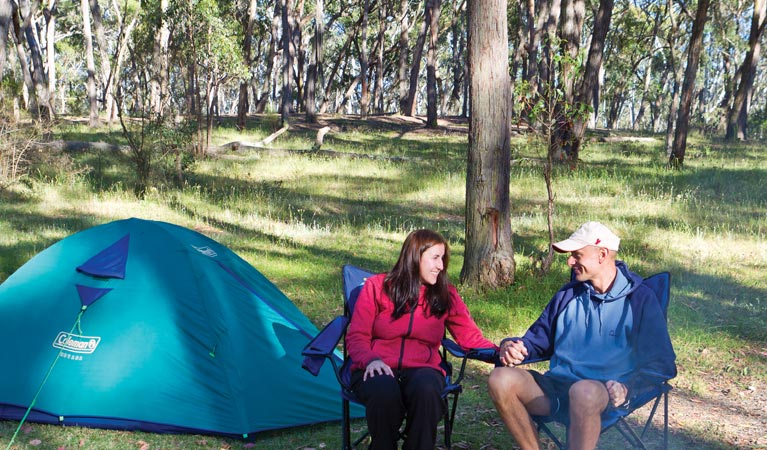 Apsley Falls campground - VIC Tourism