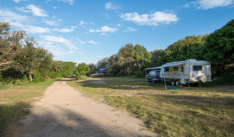 Racecourse Campground - VIC Tourism