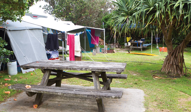 Sandon River campground - VIC Tourism