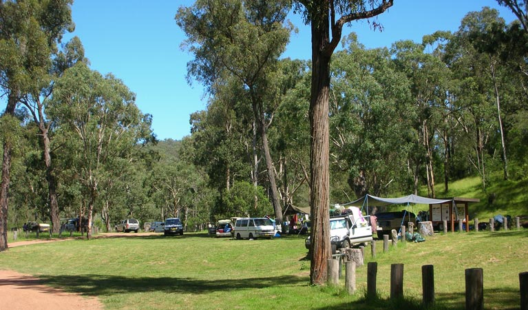 Washpools campground - VIC Tourism