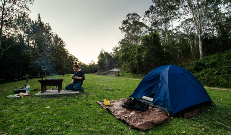 Woko campground - VIC Tourism
