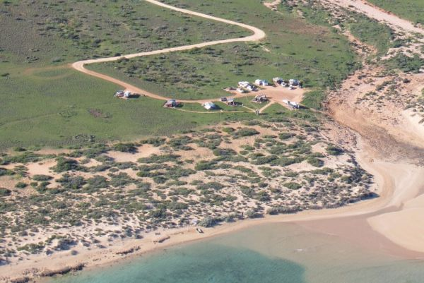 Tulki Camp at Cape Range National Park