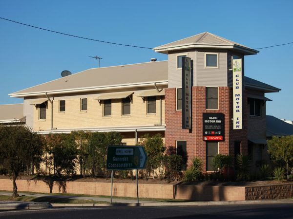 Club Motor Inn Narrabri - VIC Tourism