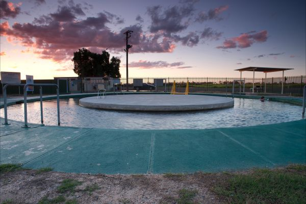 Burren Junction Bore Baths and Camp Ground - VIC Tourism