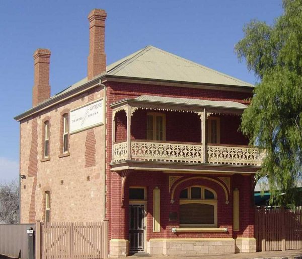 Savings Bank of South Australia - Old Quorn Branch - VIC Tourism