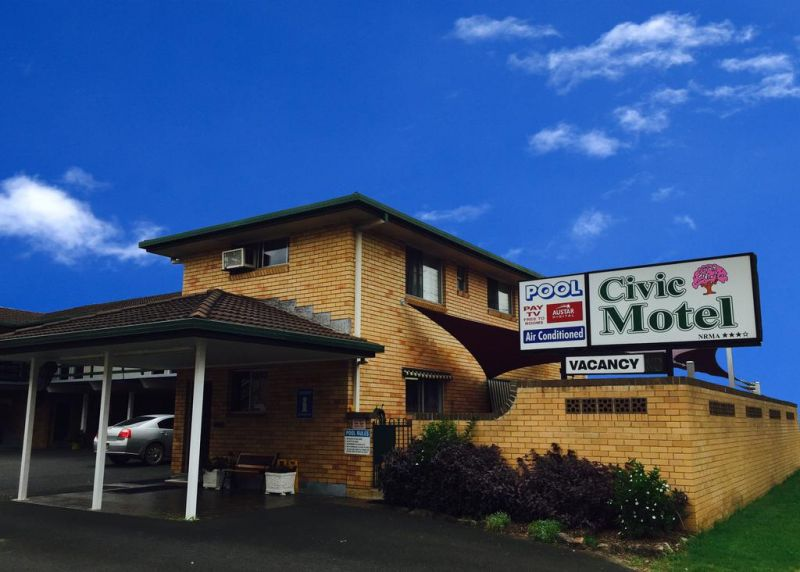 Civic Motel Grafton - VIC Tourism