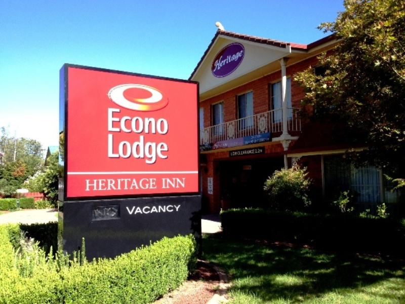 Econolodge Heritage Inn - VIC Tourism