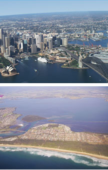 Sydney By Air - VIC Tourism
