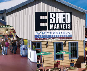 The E Shed Markets - VIC Tourism
