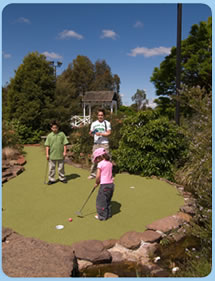 Wetlands Mini Golf - VIC Tourism