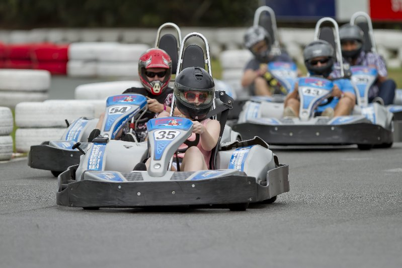 Kingston Park Raceway Go Karting
