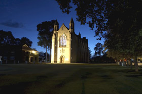 Chapel of St Mary and St George - VIC Tourism
