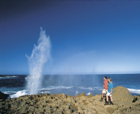 The Blowholes Carnarvon - VIC Tourism