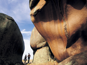 Murphy's Haystacks - Ancient Granite Rock - VIC Tourism