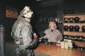 Indoor Skirmish - Paintball Sports - VIC Tourism