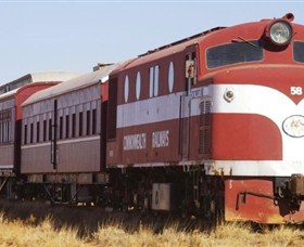 Old Ghan Heritage Railway and Museum - VIC Tourism
