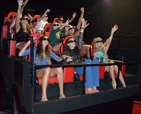 7D Cinema - Virtual Reality - VIC Tourism