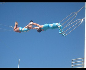 Trix Circus Flying Trapeze