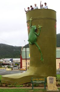 Golden Gumboot - VIC Tourism