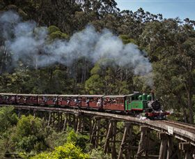 Puffing Billy Steam Railway - VIC Tourism