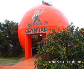 Gayndahs Big Orange - VIC Tourism