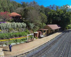 Spring Bluff Railway Station - VIC Tourism