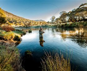 Fly Fishing Tumut - VIC Tourism