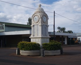 Barcaldine War Memorial Clock - VIC Tourism