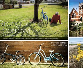 Grong Grong Borrow Bikes - VIC Tourism