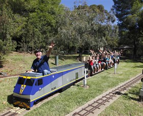 Willans Hill Miniature Railway - VIC Tourism
