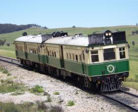Paterson Rail Motor Society - VIC Tourism