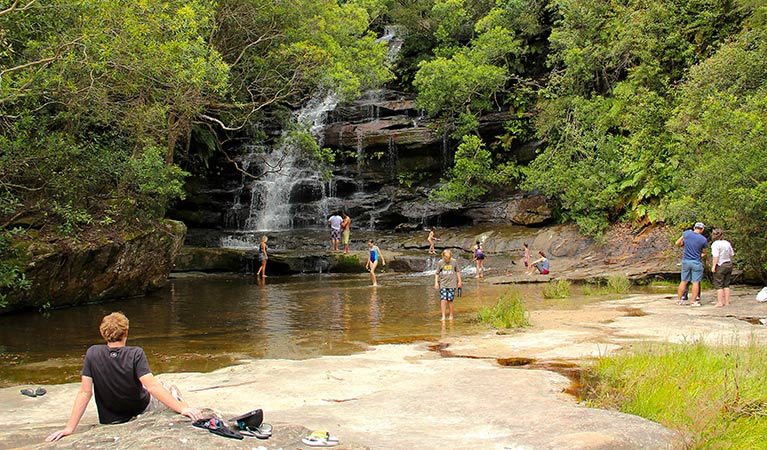 Somersby Falls picnic area - VIC Tourism