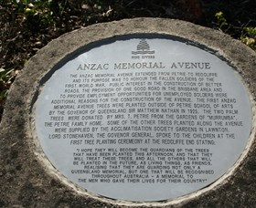 Anzac Memorial Avenue Redcliffe - VIC Tourism