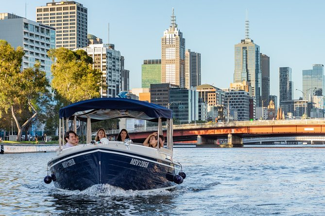 2-Hour Self-Drive Boat Hire on the Yarra River - VIC Tourism