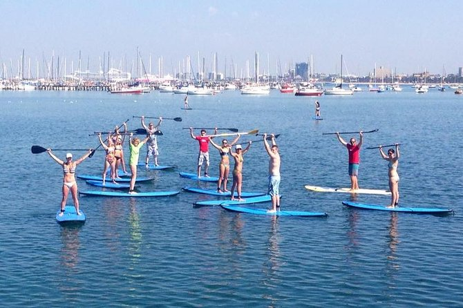 St Kilda Stand-Up Paddle Board Rental - VIC Tourism