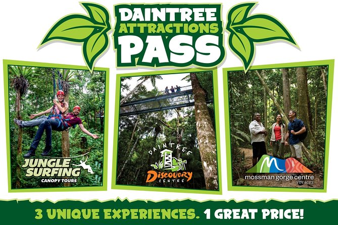 Daintree Atttractions Pass The Best of the Daintree in a Day - VIC Tourism