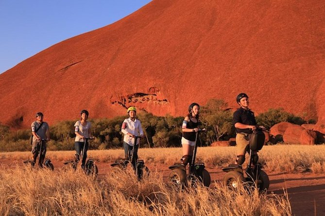 Quarter Uluru Segway  Sunset - VIC Tourism