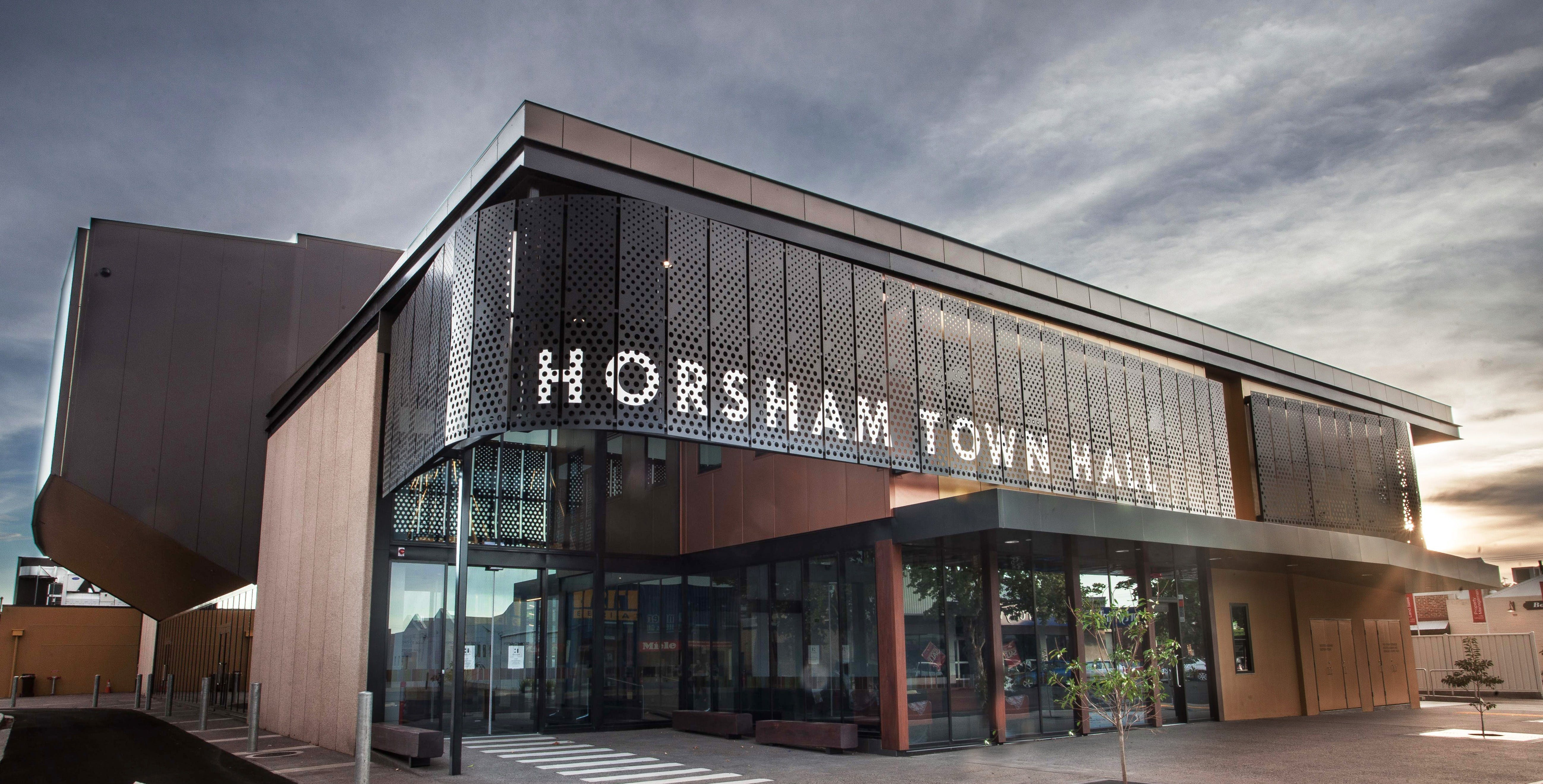 Horsham Town Hall  Regional Art Gallery - VIC Tourism