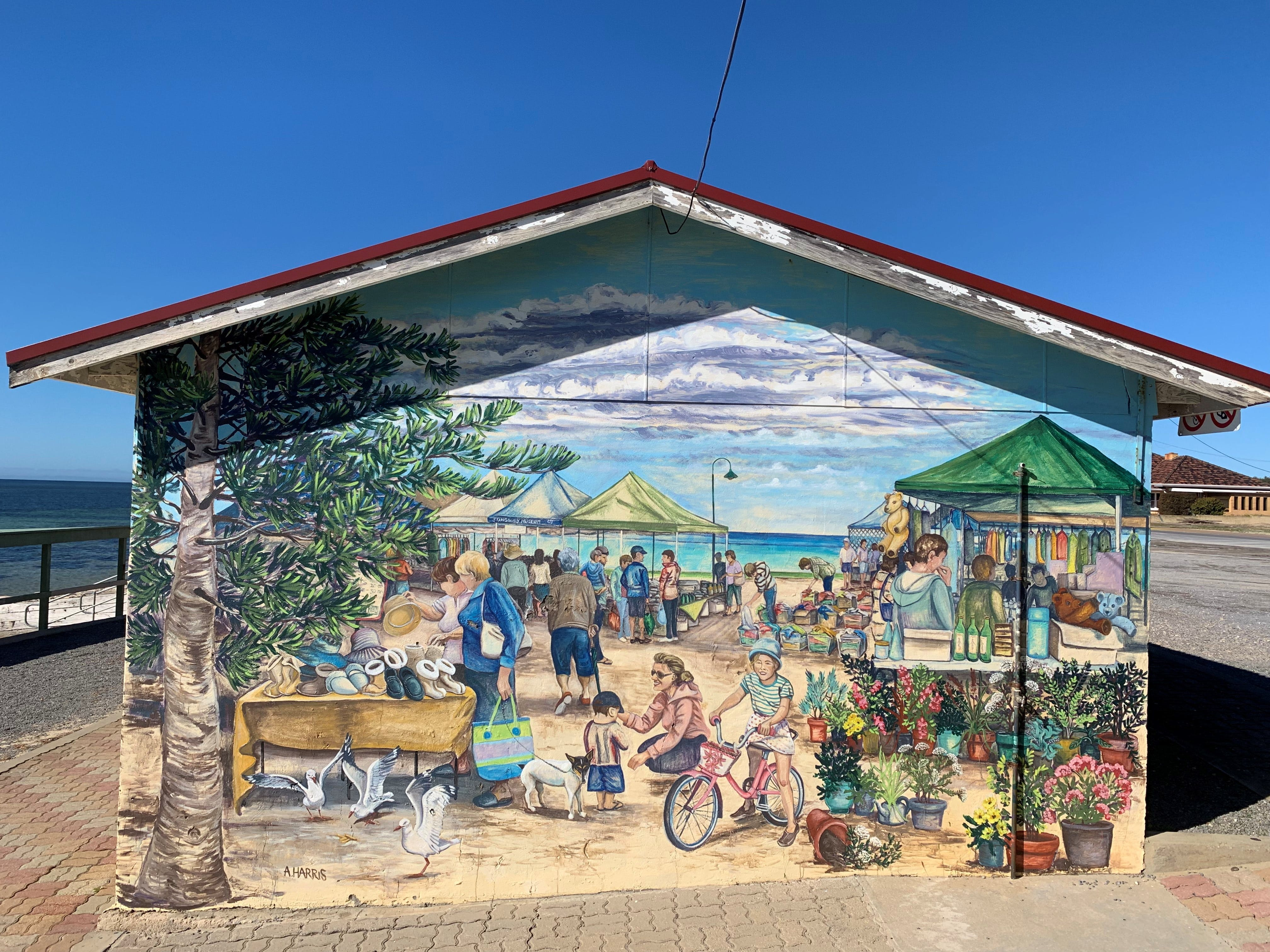 Stansbury Foreshore Murals - VIC Tourism