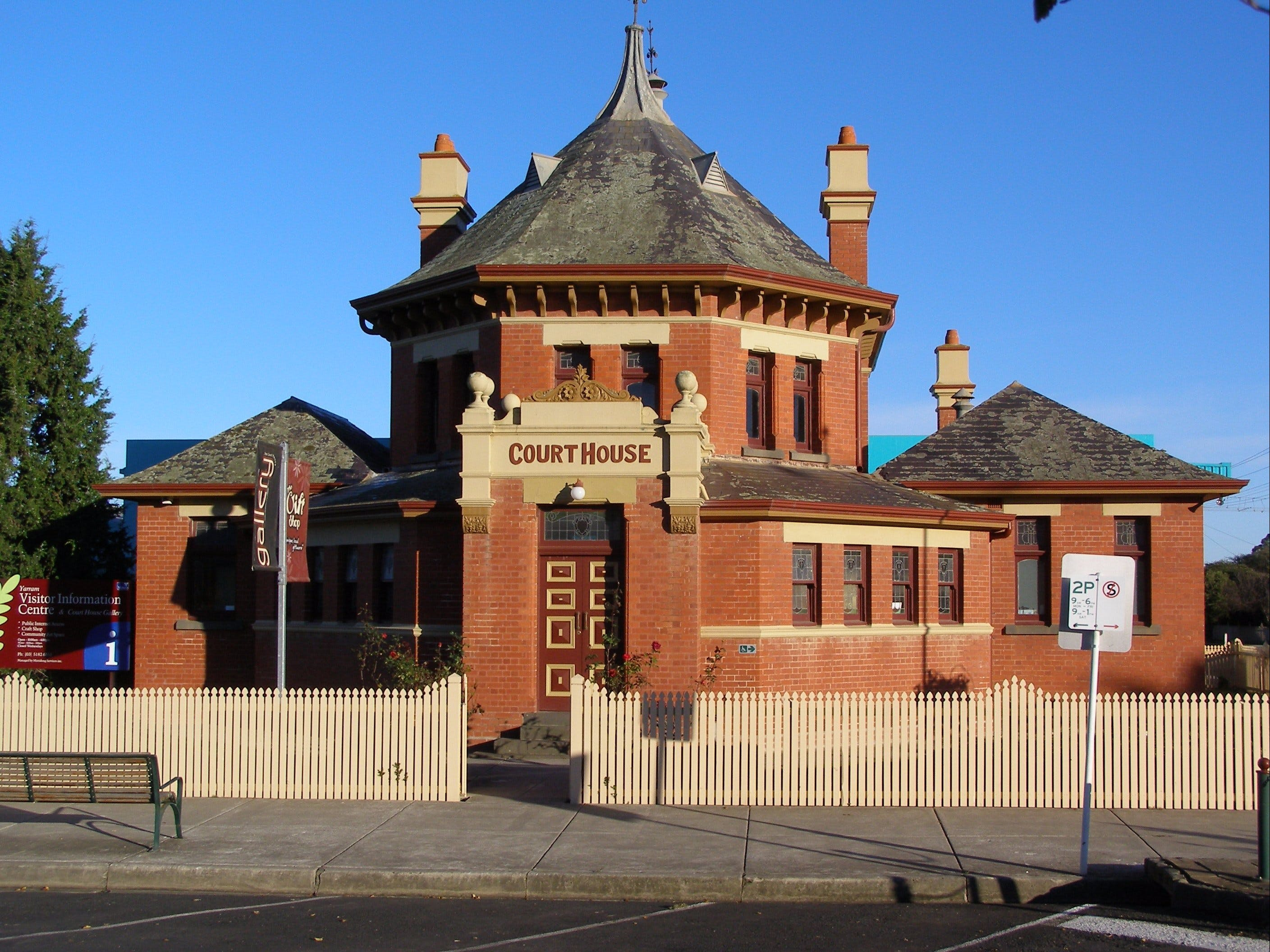 Yarram Courthouse Gallery - VIC Tourism