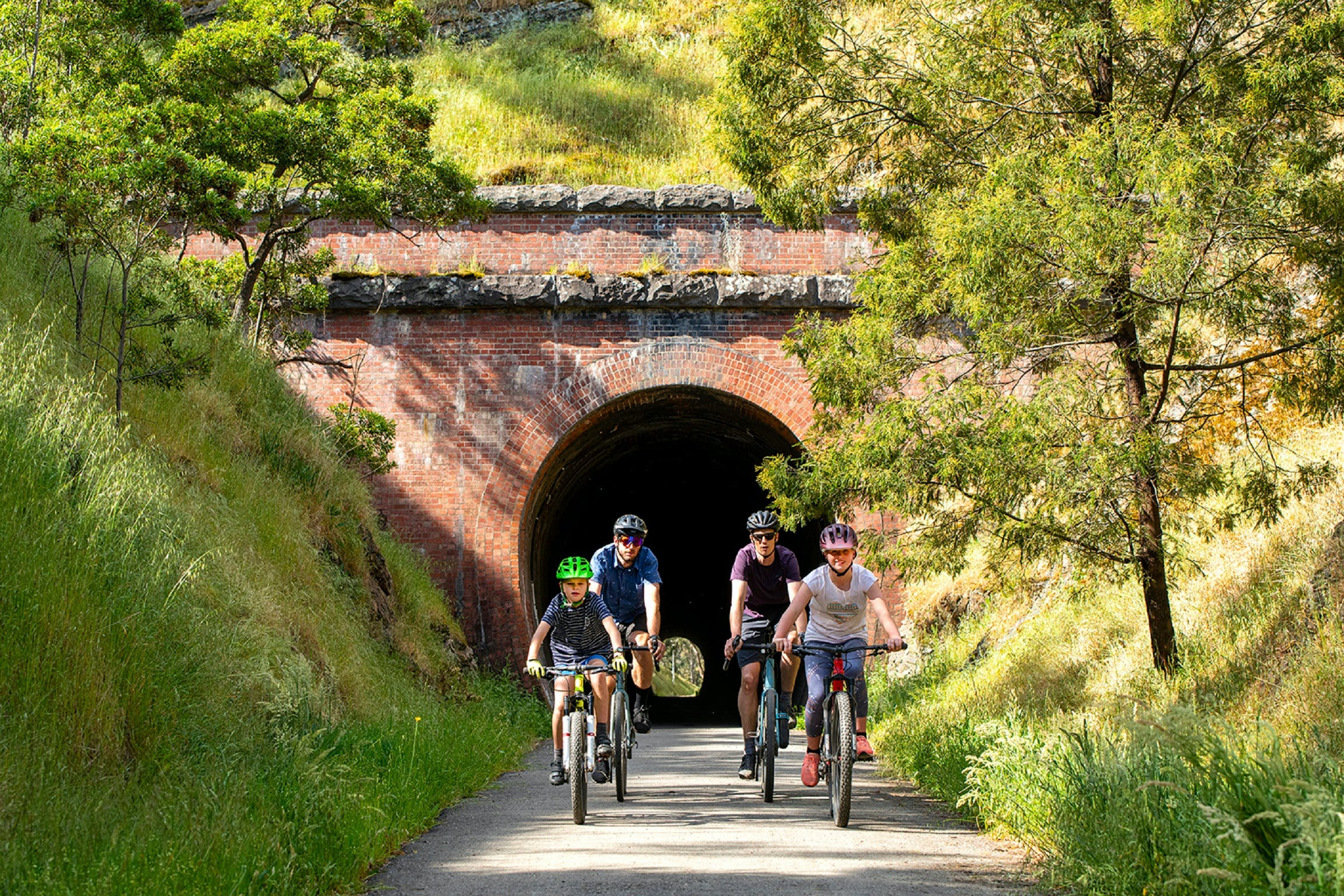 Cheviot Tunnel - VIC Tourism