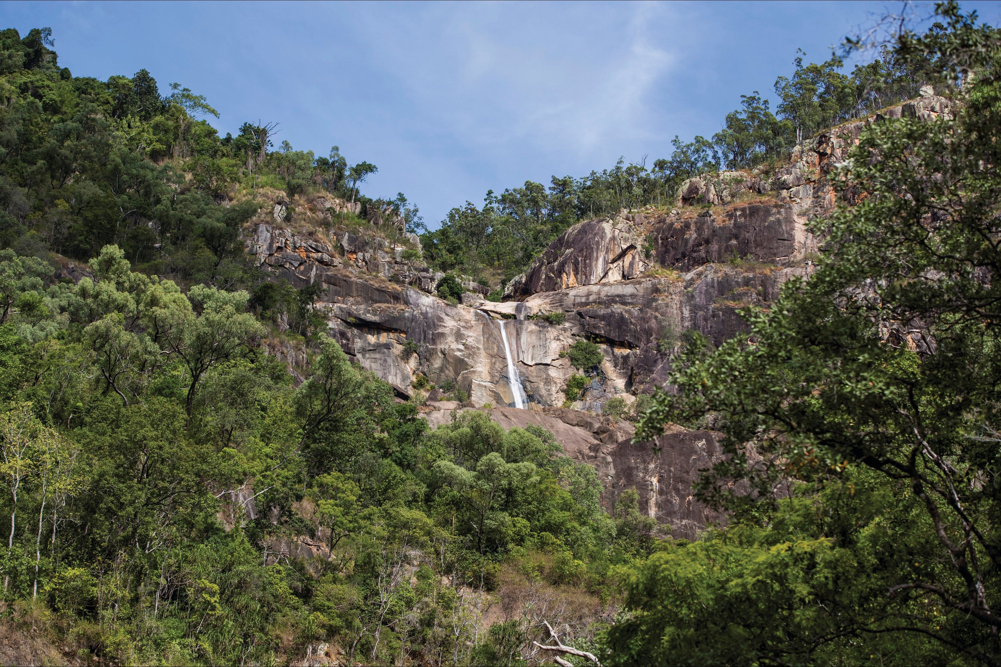 Jourama Falls Paluma Range National Park - VIC Tourism