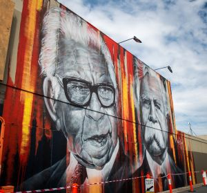 Shepparton Aboriginal Street Art Project Murals - VIC Tourism