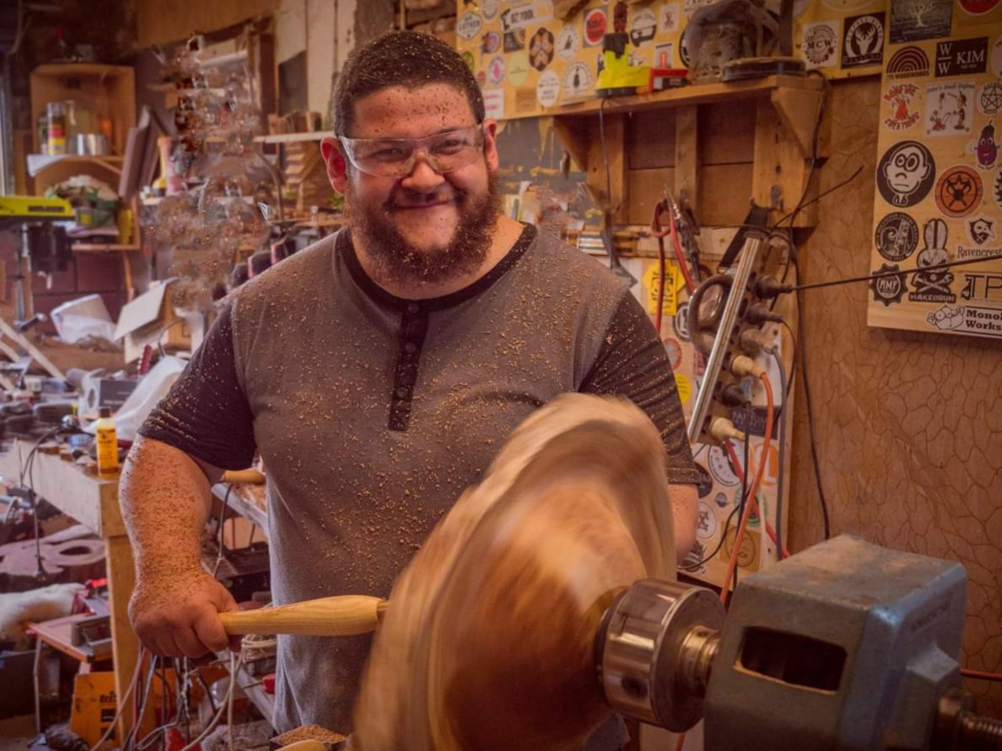 The Bearded Woodworker - VIC Tourism