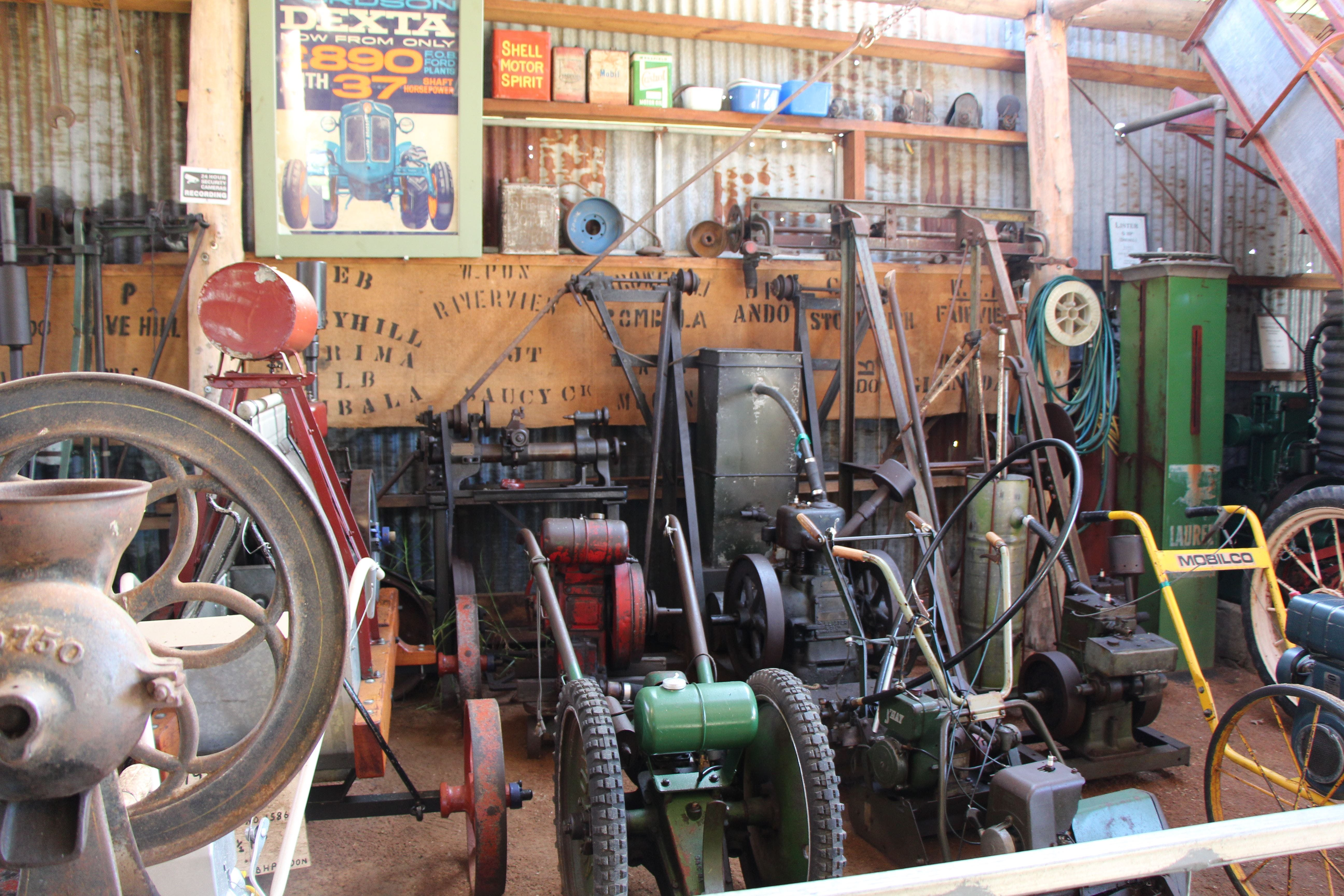 Bombala Historic Engine and Machinery Shed - VIC Tourism