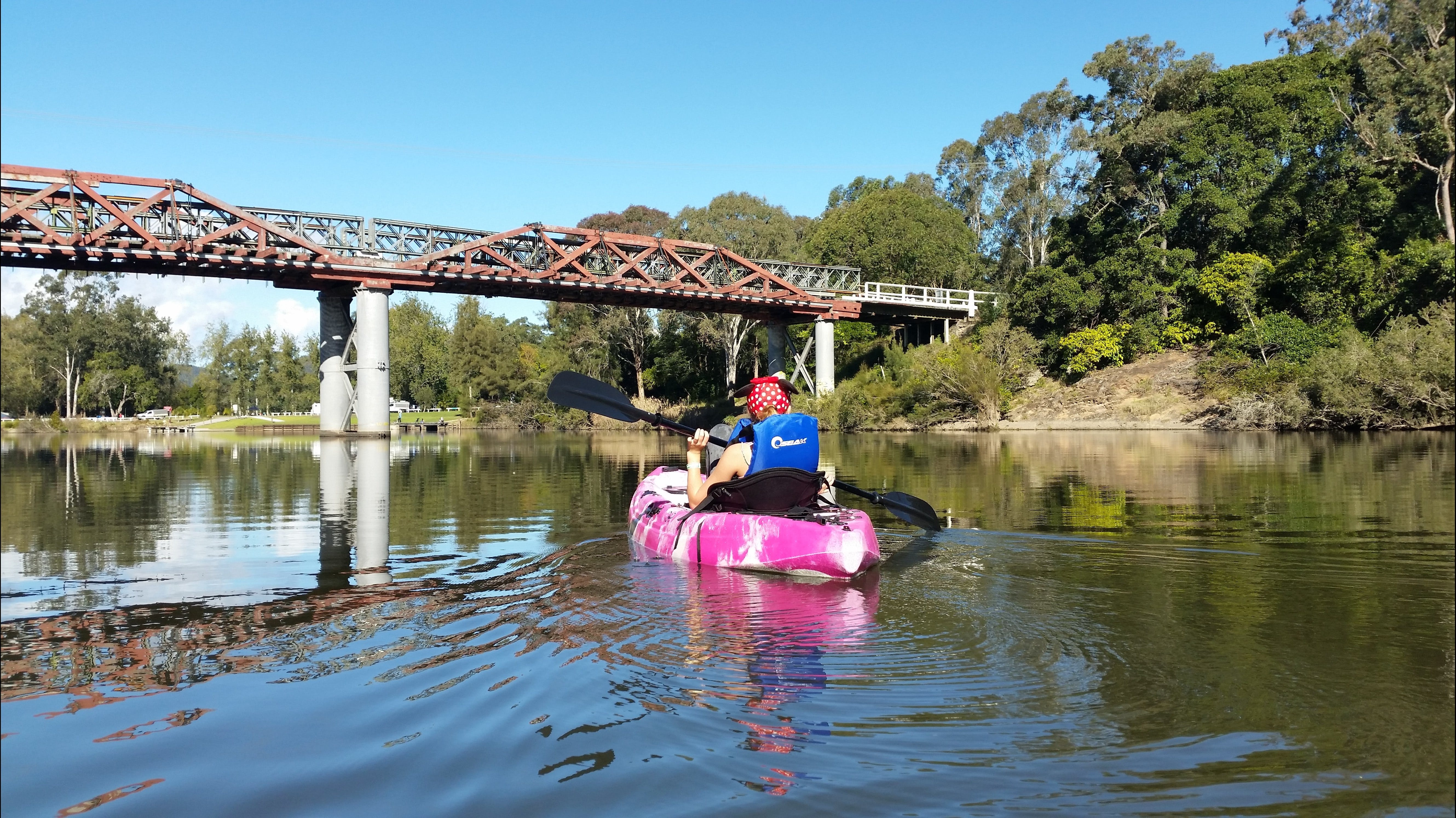 Canoeing at Clarence Town - VIC Tourism