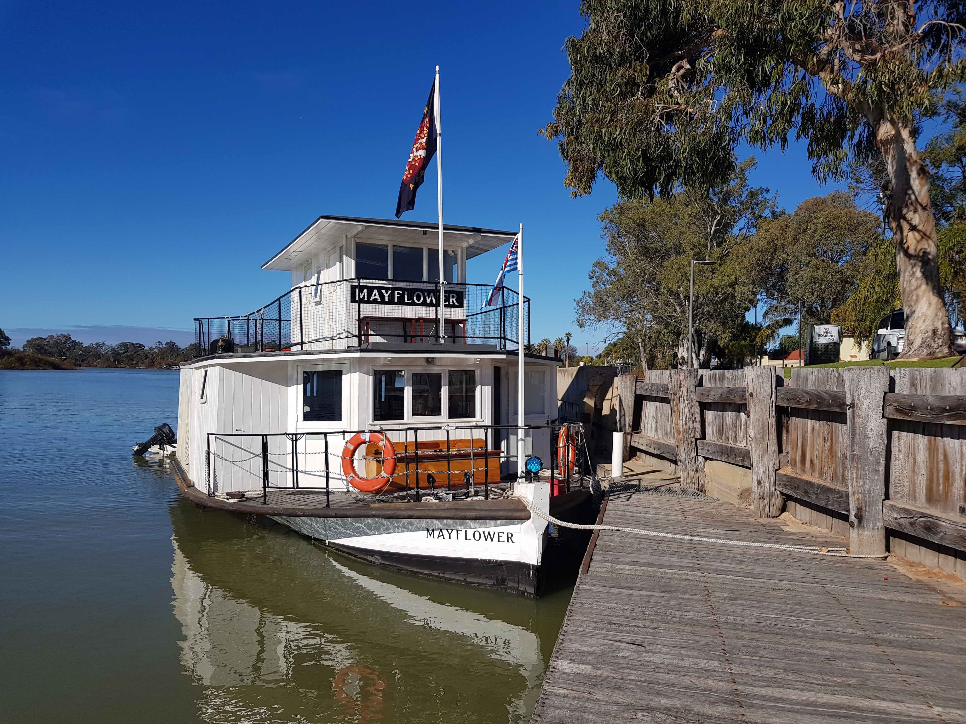 PW Mayflower Cruises - - VIC Tourism