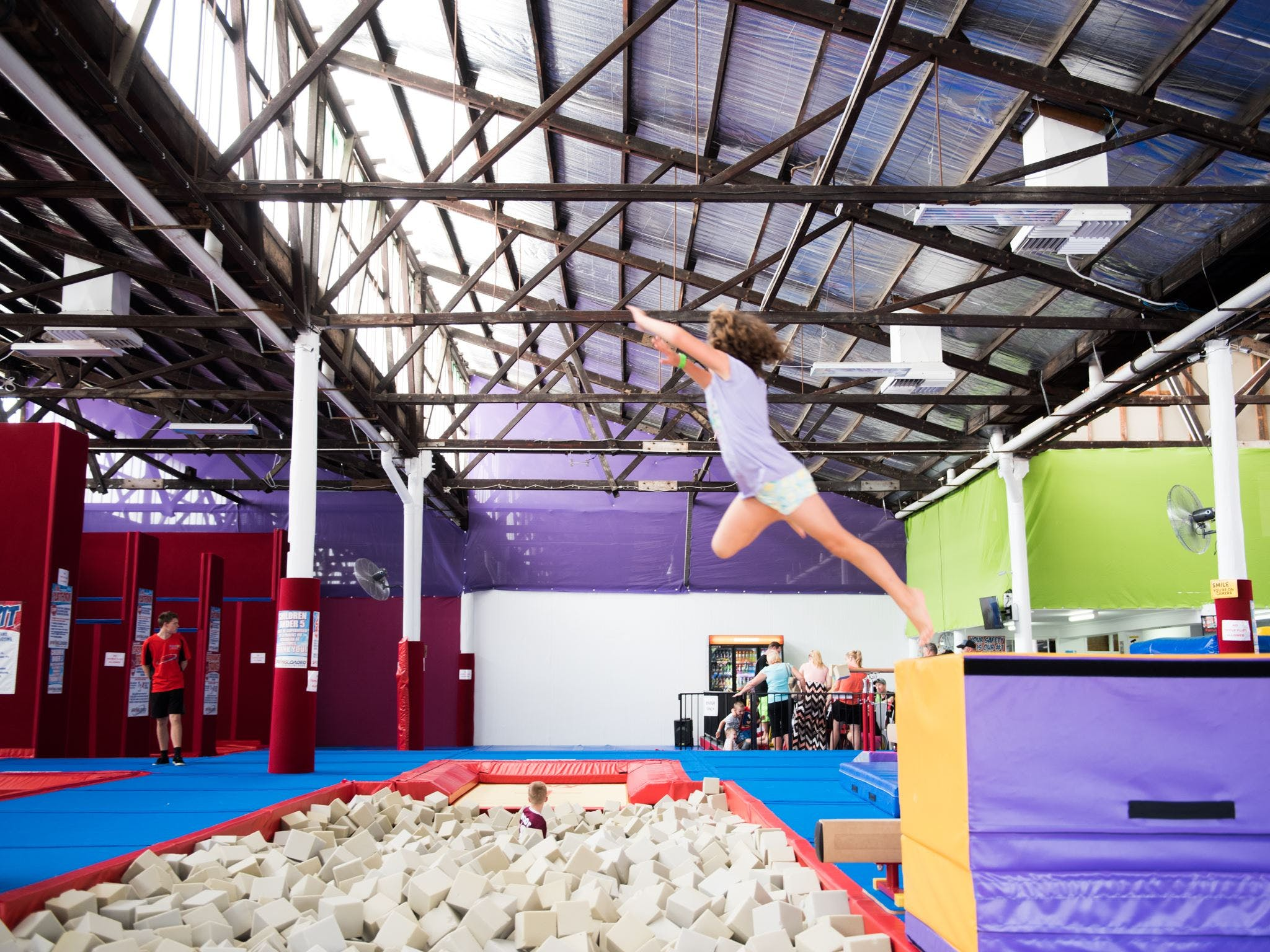 Springloaded Trampoline - VIC Tourism