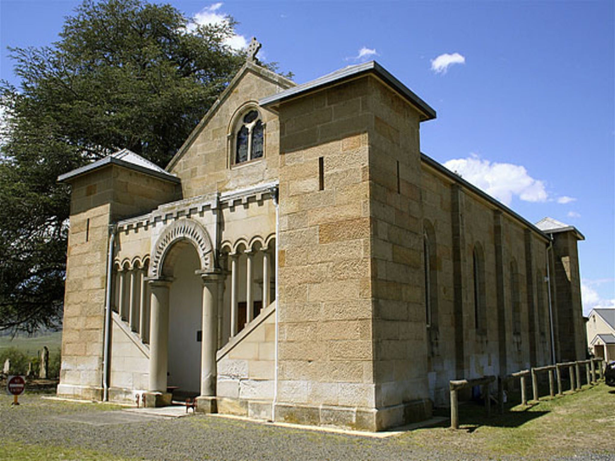 St Mark's Church Pontville - VIC Tourism